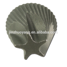 CNC machining service OEM ductile iron casting part